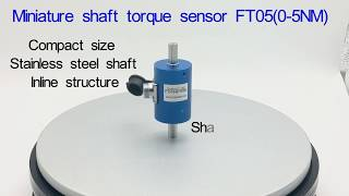 Shaft torque sensor 0-5NM micro reaction torque transducer