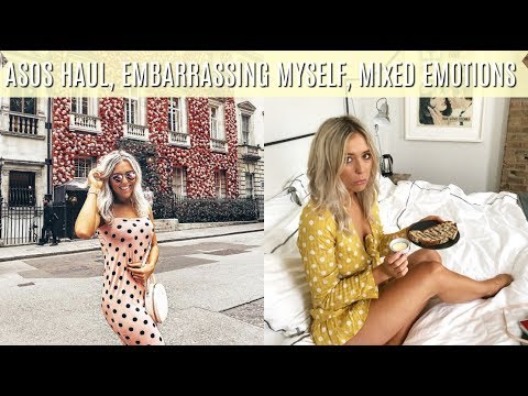 Embarrassing Myself, Mixed Emotions + ASOS, Topshop Try On Haul | Em Sheldon Weekly Vlogs