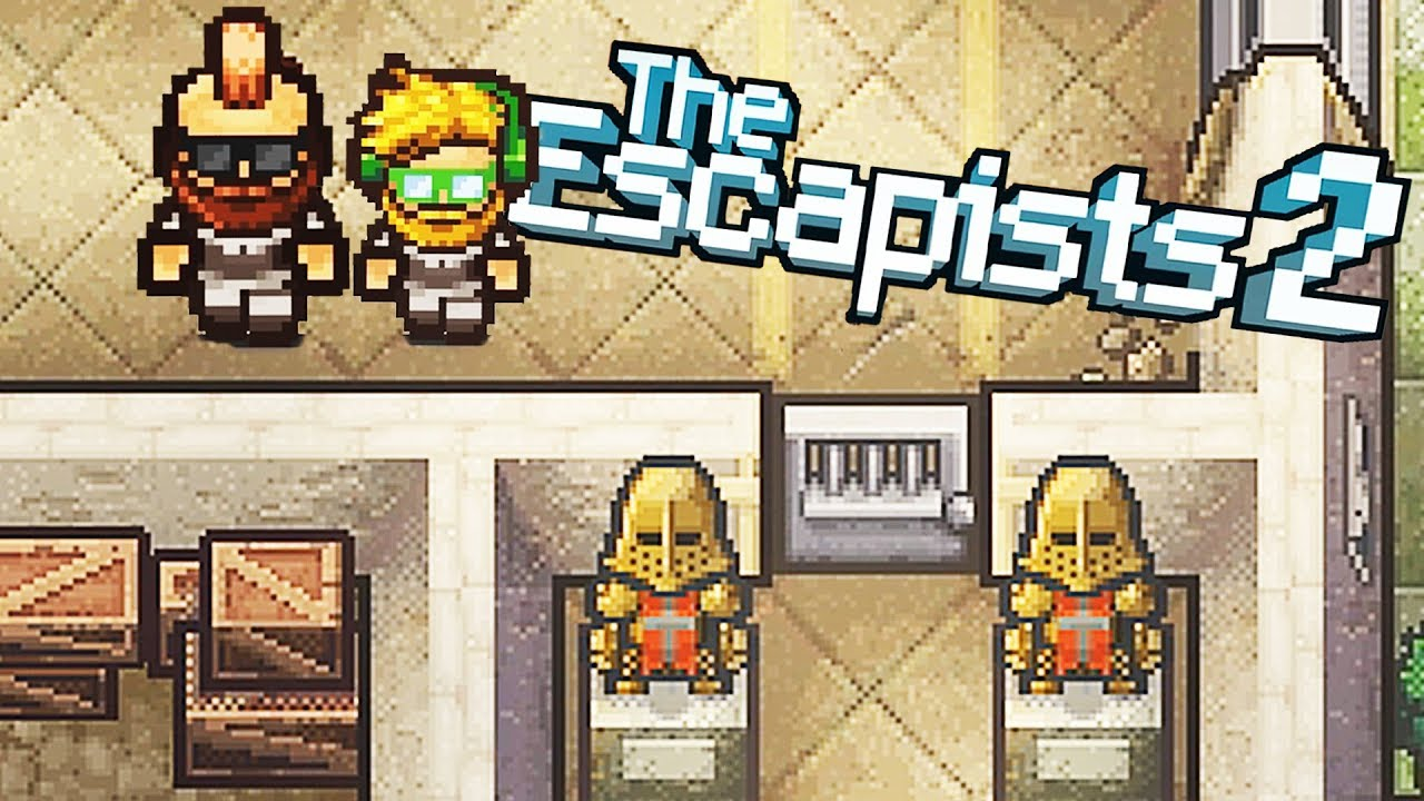Imprisoned in the KAPOW Castle Prison Camp! - The Escapists 2 Gameplay