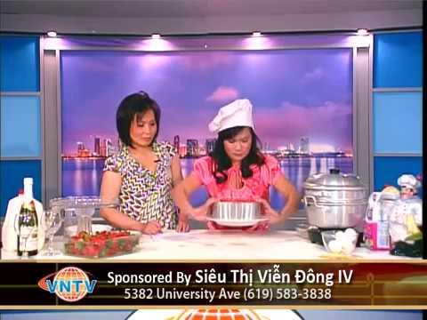 VNTV Cooking Show - Hướng dẫn cách làm bánh Flan -VNTV