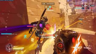 "Official DAWGZofWAR presents ""widowmaker gameplay play on Anubis"""