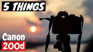 Canon 200d | Top 5 Reasons to Buy | Perfect DSLR for beginners