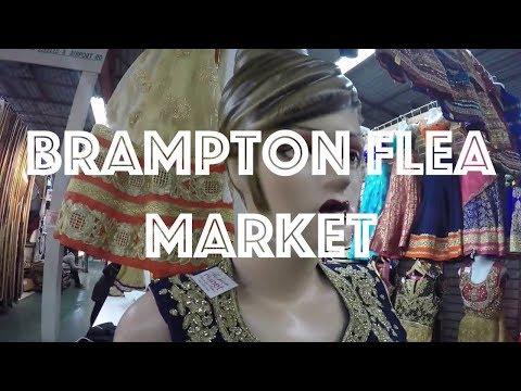 BRAMPTON FLEA MARKET ONTARIO CANADA