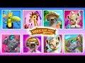 Jungle Animal Hair Salon - Tropical Beauty Salon Pretend Play   TutoTOONS Cartoons & Games for Kids