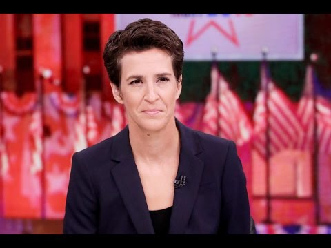 Maddow [Incorrectly] Blames Third Party Voters For Hillary's Loss