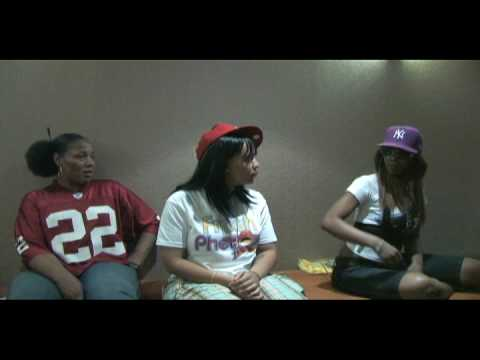 LADY OF RAGE LADY LUCK & BABS BUNNY INTERVIEW PART 3 BY F.NITTI