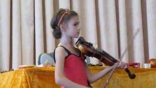 Открытый урок в музыкальной школе (скрипка)