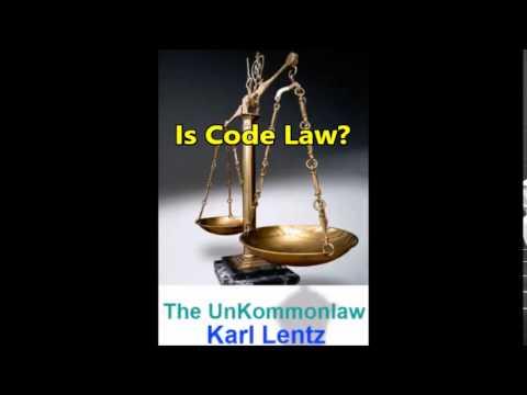 020 - Karl Lentz - Is Code Law?