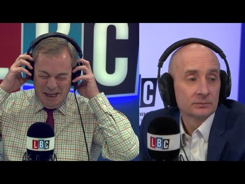 The Nigel Farage Show On Sunday: Joined by Lord Adonis. 2nd Referendum? 2/2  LBC - 14th January 2018
