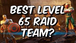 Best Level 65 Raid Team? - August 2018 - Marvel Strike Force