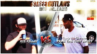 Kye Kelley vs Grudge Race Champion Tony Bynes for Big Money