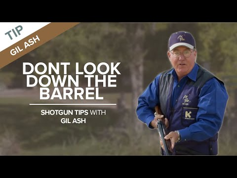 Don't Look Down the Barrel - Sporting Clays Tip