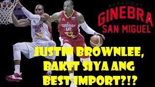 GINEBRA JUSTIN BROWNLEE GAME 1 TO GAME 6 HIGHLIGHTS
