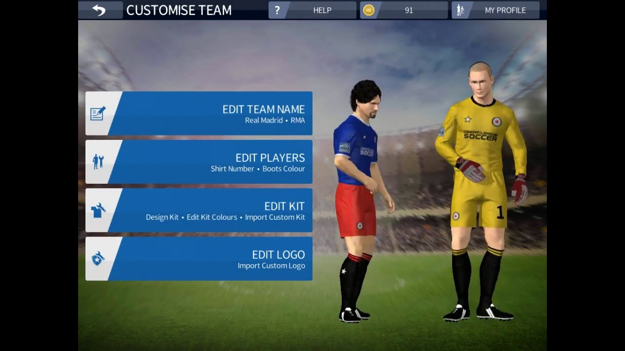 How to import logo or kit in dream league soccer 16 android or ios