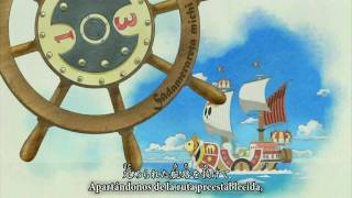 Repeat youtube video One Piece Opening 9 - Jungle P (HD) Japanese