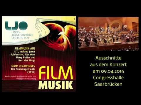 Filmmusik mit dem Landes-Jugend-Symphonie-Orchester Saar