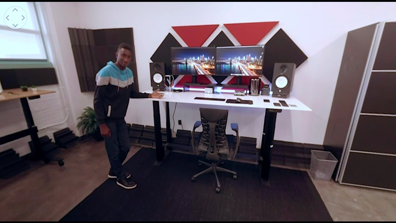 2016 MKBHD Studio Tour in 360°!