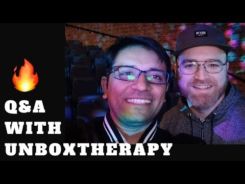 Unbox Therapy in India! 🔥🔥🔥