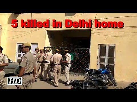Family Of Four And A Guard Killed At Their Delhi Residence