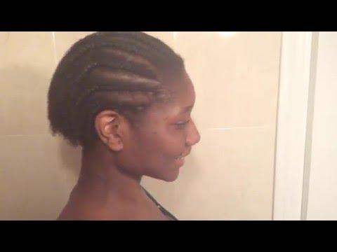 Como trenzar el cabello afro corto
