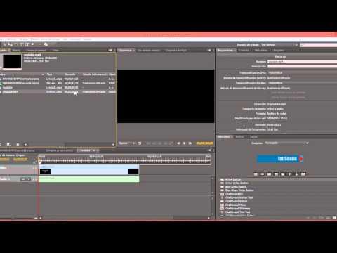 Configurar Encore para autoría de DVD