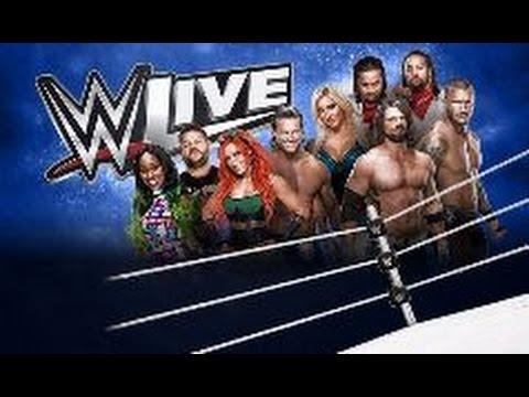 Gick och såg WWE Live i Stockholm