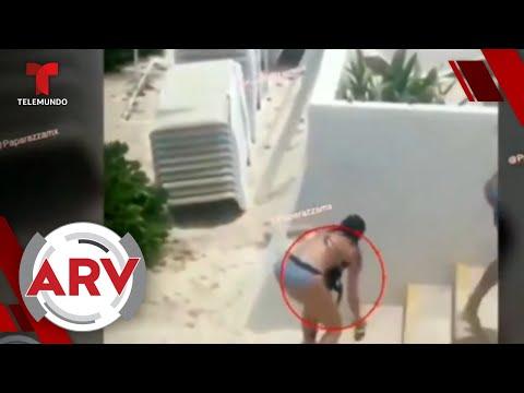 Livia Brito: Sale a la luz video de supuesta agresión a fotógrafo | Al Rojo Vivo | Telemundo