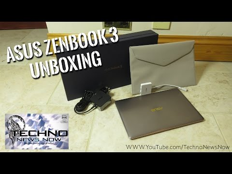 "ASUS Zenbook 3 UX390UA 12.5"" - Intel i5 7200U - 8GB RAM - 512GB SSD - Laptop Unboxing from AO"