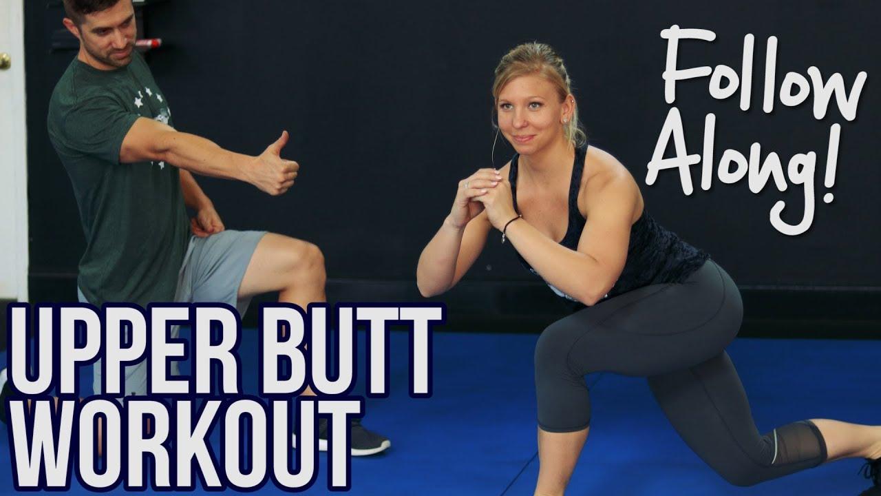 Amanda Fuller Ass follow along upper butt workout - only 3 moves!