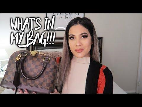 WHAT'S IN MY BAG! Louis Vuitton Alma BB