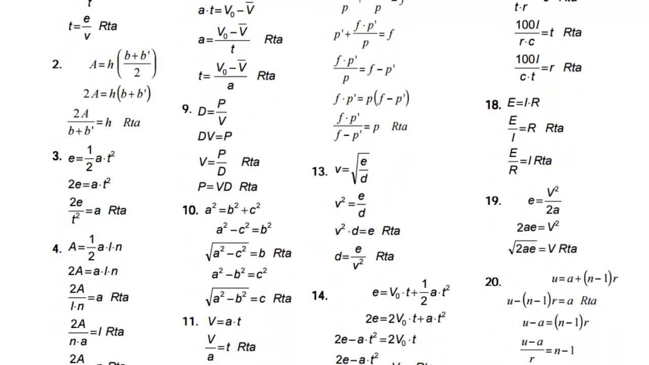 Algebra de Baldor Ejercicio 163 Literales del 1 al 22