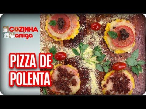 Pizza De Polenta - Raquel Novais | Cozinha Amiga (12/02/18)