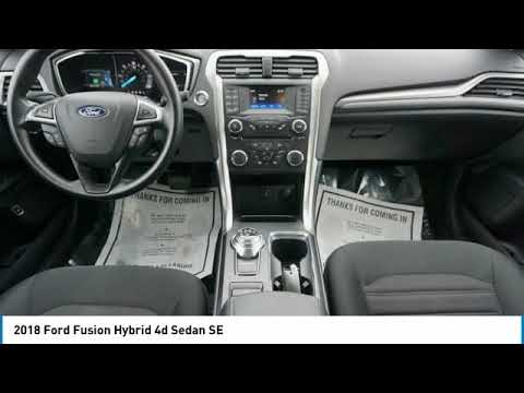 2018 Ford Fusion Hybrid Temple Hills MD T11259