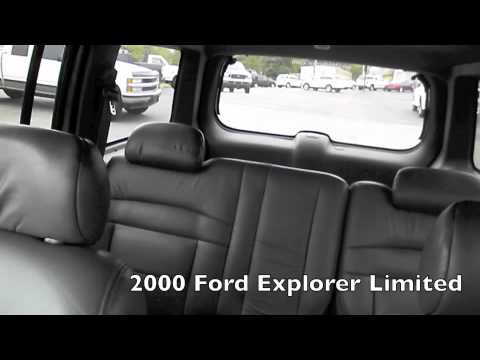 2000 Ford Explorer Limited Edition Youtube