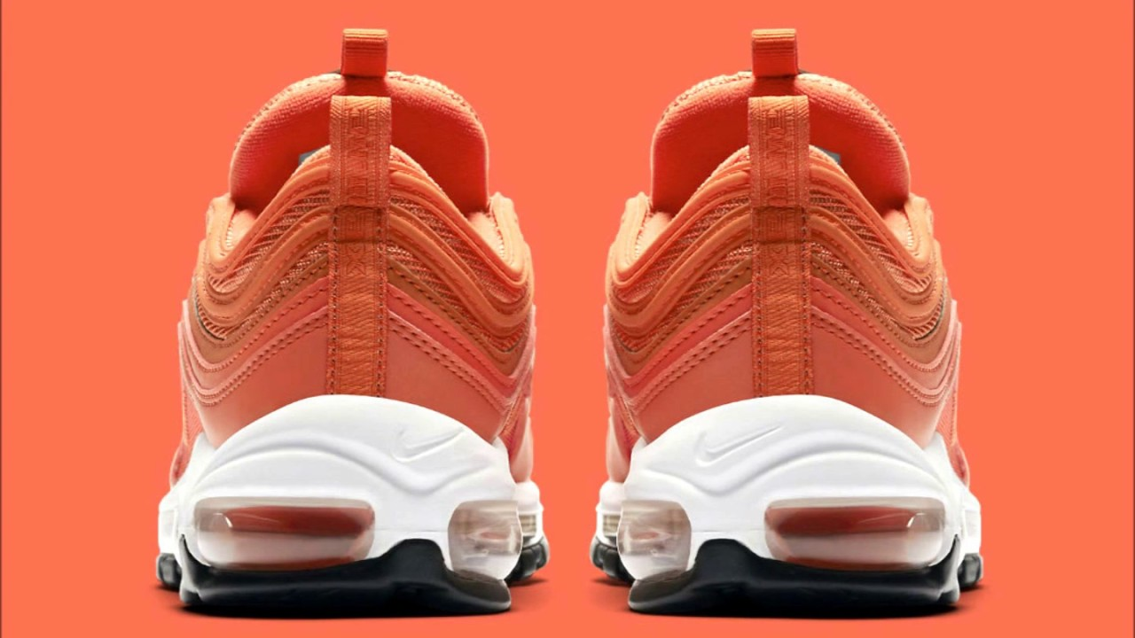Nike Serves Up the Air Max 97 in Orange Fresh addition to your spring  rotation