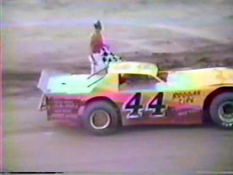 Lawrenceburg Speedway Bert Swafford. Indiana USAC 1986