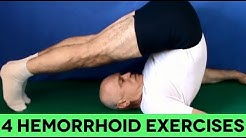 4 Little Known Exercises To Get Rid of Hemorrhoids For Good (AT HOME)
