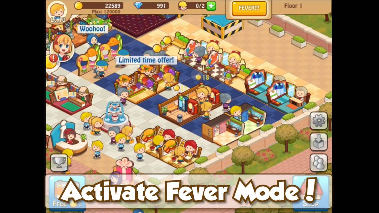 download happy mall story mod apk android 1