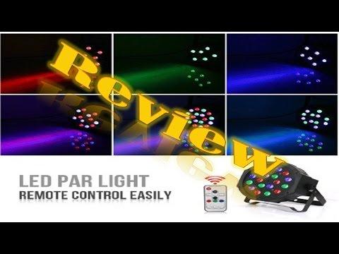 Laluce 18LED Par Lights for Stage Lighting Review