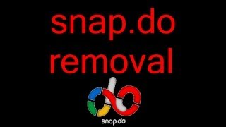 How to remove / uninstall snap.do from Google Chrome tutorial - 1080p
