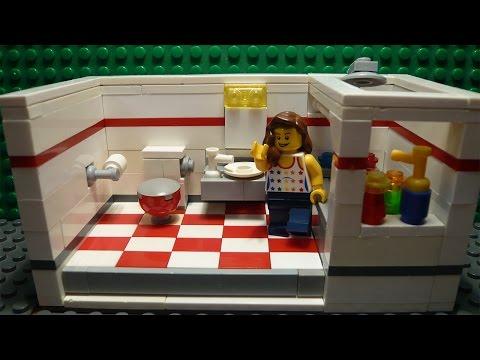 видео: lego САМОДЕЛКА #11 | Ванная / bathroom