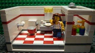LEGO САМОДЕЛКА #11 | Ванная / Bathroom(Всем привет! Перед вами серия самоделок, в которых показано, как построить ту или иную комнату для вашего..., 2015-06-15T13:10:52.000Z)