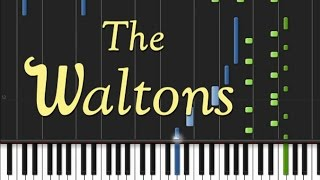 The Waltons - Theme Song [Synthesia Tutorial]