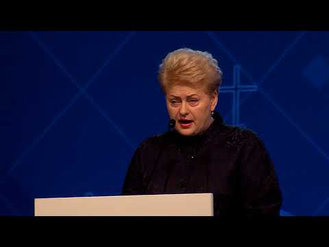 Opening statement by H.E. President of the Republic of Lithuania Dalia Grybauskaitė