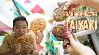 Xếp hàng cả buổi để chờ ăn bánh cá nướng Taiyaki vị Việt    360 Ngon