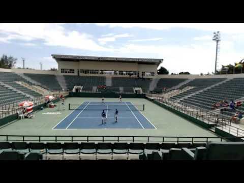 WJT 2017 Mora/Winstead (CRC) vs Beaujon/Martis (CUR)