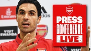 LIVE | Mikel Arteta | Press Conference