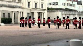 royal guards playing