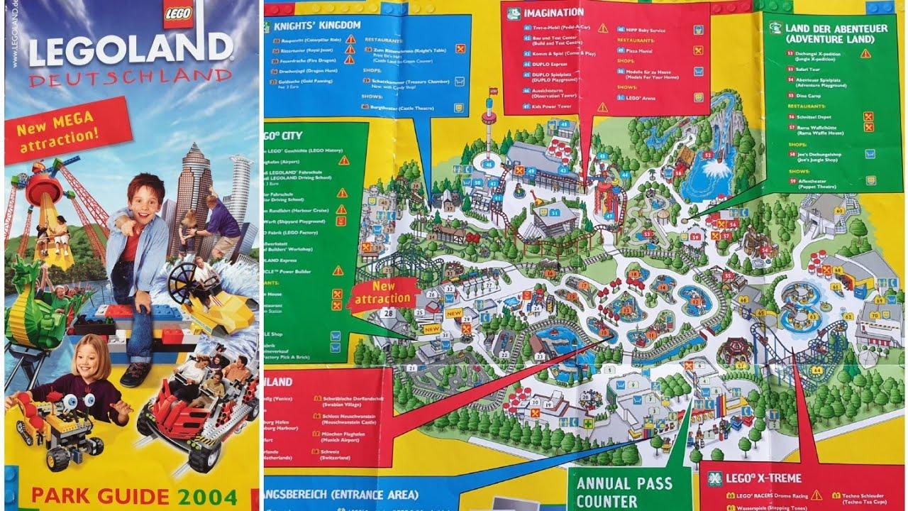 LEGOLAND LEGO WINDSOR 2019 RESORT GUIDE MAP LEAFLET BRAND NEW