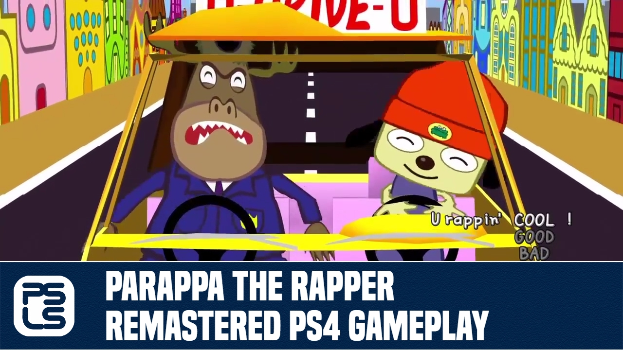 PaRappa The Rapper Remastered Review - An Aging Mascot